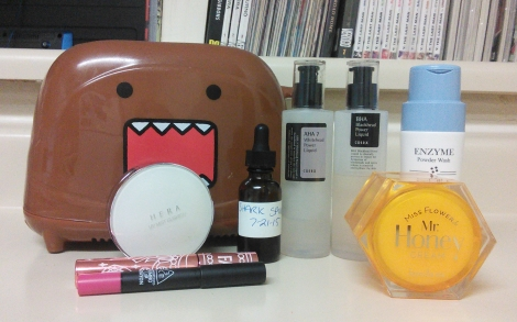 August 2015 Korean skincare holy grails