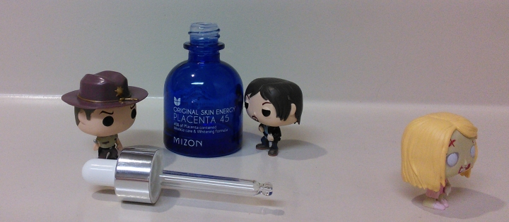 Empty Mizon placenta ampoule