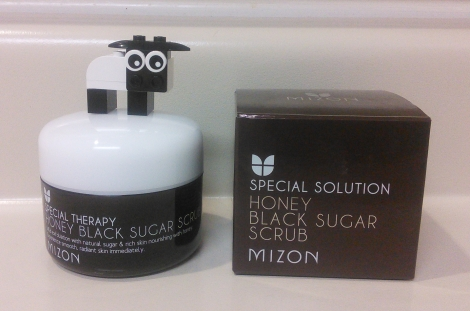 Mizon Honey Black Sugar Scrub review