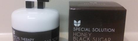 Mizon Honey Black Sugar Scrub review