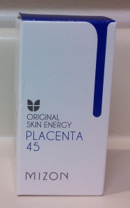 Mizon placenta ampoule box