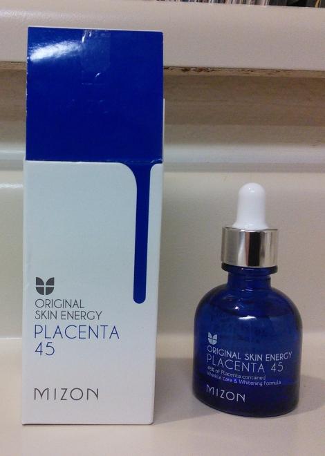 Mizon Original Skin Energy Placenta 45 Ampoule unboxed