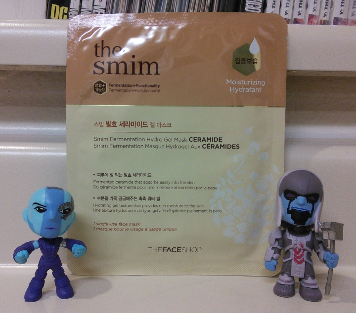 Review: The Face Shop SMIM Fermentation Hydro Gel Mask – Ceramide