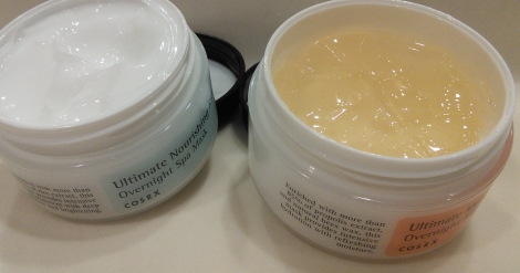 COSRX honey and rice overnight masks