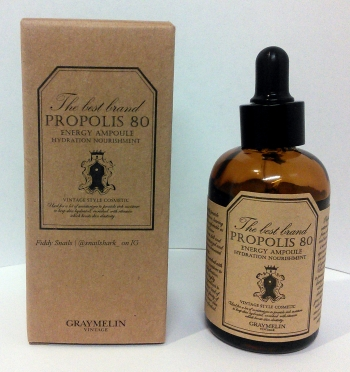 Graymelin Propolis 80 Energy Ampoule packaging