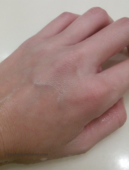 Cosrx gel cleanser removing heavy makeup