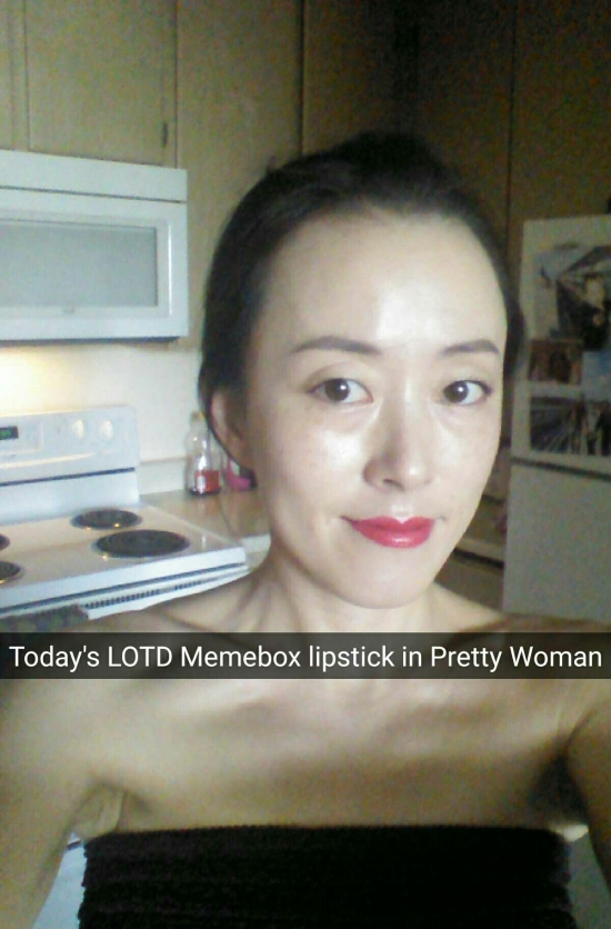FOTD with IOPE Air Cushion XP and Memebox lipstick