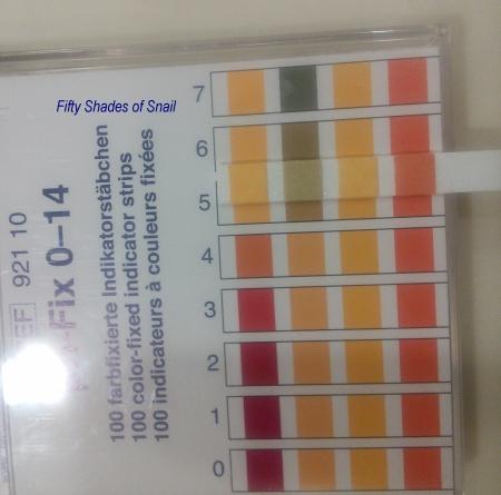 pH test of Primera Smooth Cleansing Cream