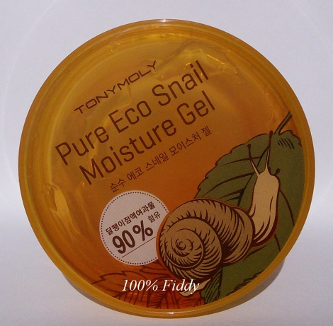Tony Moly snail gel review