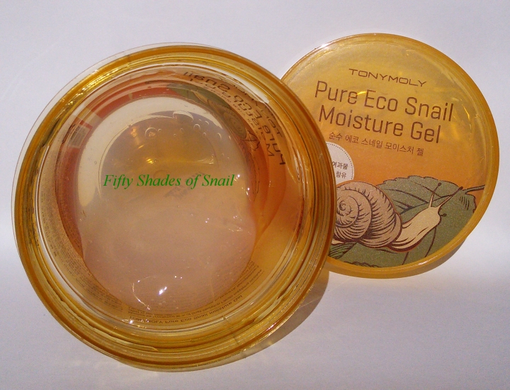 Review of Tony Moly Pure Eco Snail Moisture Gel