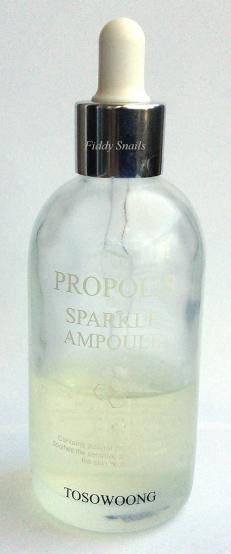 Tosowoong Propolis Sparkle Ampoule bottle