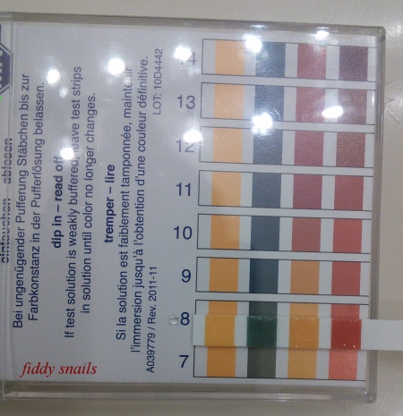 Tap water pH test for Cosrx gel cleanser review