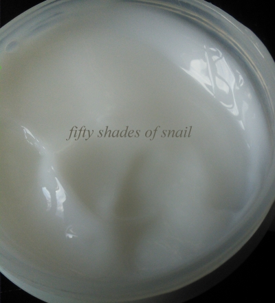 Cosrx snail cream texture