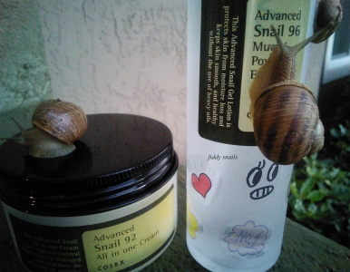 Cosrx snail products