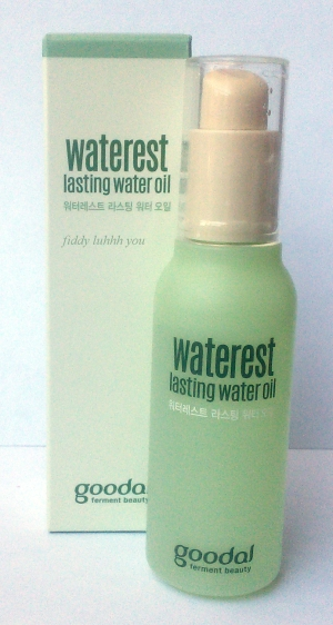 Goodal Waterest Lasting Water Oil packaging