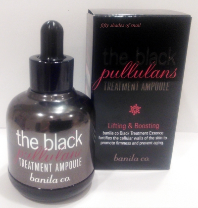 Banila Co The Black Pullulans Treatment Ampoule review
