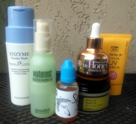 Sample daytime dry skin routine