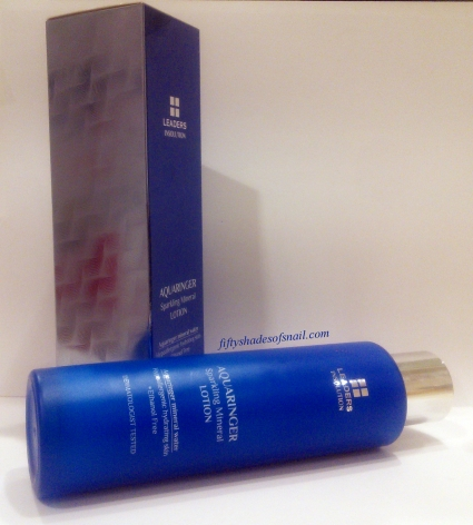 Leaders Insolution Aquaringer Sparkling Mineral Lotion packaging
