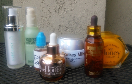 Sample nighttime dry skin skincare routine
