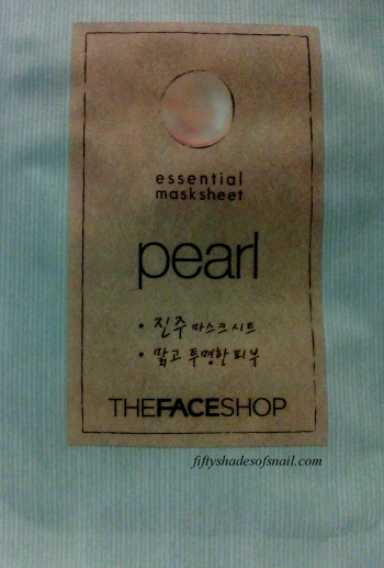 The Face Shop Essential Mask Sheet Pearl