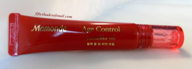 Review of Mamonde Age Control Camellia Oil