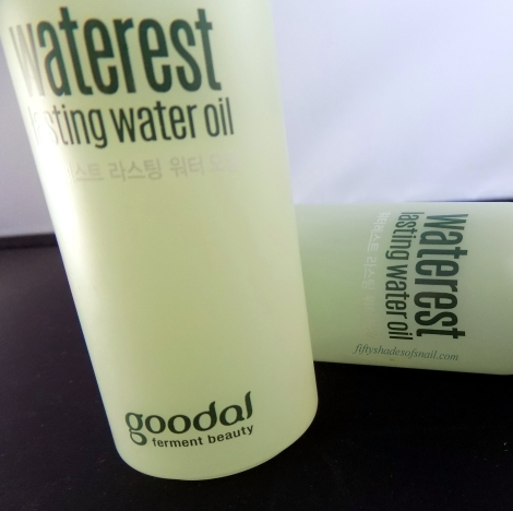 Goodal Waterest Lasting Water Oil bottle