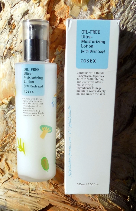 Review of COSRX Oil-Free Ultra-Moisturizing Lotion