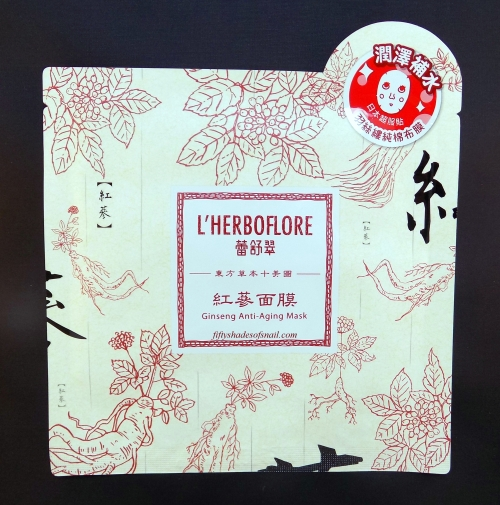 Review of L'Herboflore Ginseng Anti-Aging Mask