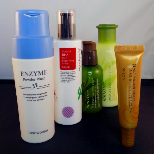 Man's skincare routine