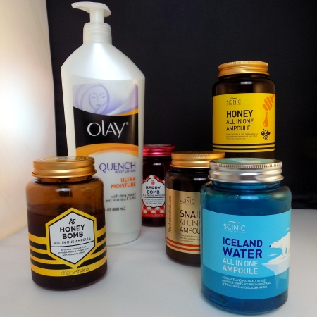 Skin lightening body moisturizers