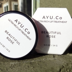 Ayu Co Beautiful Roses Ultra Rich Lip Treatment