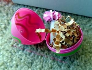 Easter egg in Beautibi box