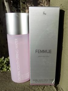 Femmue toner bottle and box