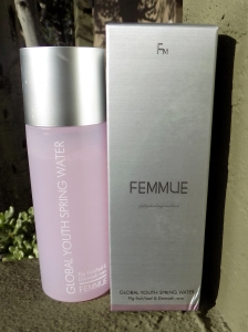 Femmue toner bottle and box