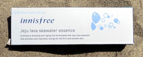 Review of Innisfree Jeju Lava Seawater Essence