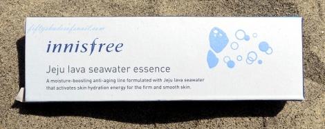 Review of Innisfree Jeju Lava Seawater Essence