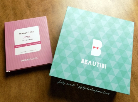 Beautibi Miracles in May unboxing and review