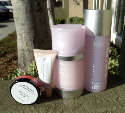 Beautibi Spring Fling box items