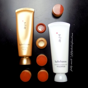 Sulwhasoo ginseng skincare products