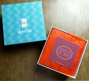 Beautibi Miracles in May box
