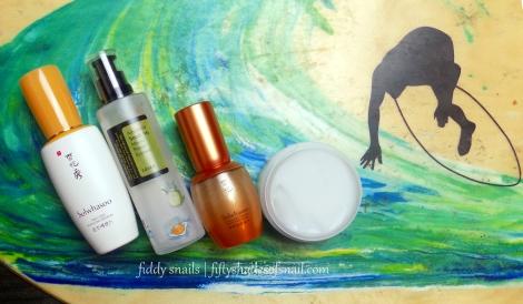 Korean skincare products to repair sun damage