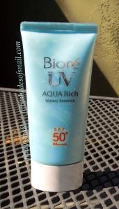 Biore UV Aqua Rich Watery Essence Japanese sunscreen