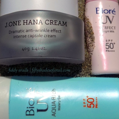 Daytime skincare routine for UV protection