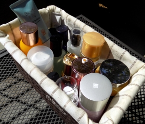 Fiddy Snails skincare basket