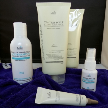 Lador products from Memebox