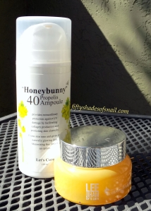 Let's Cure Honeybunny Propolis 40 Ampoule review