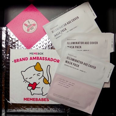 Memebox Ambassador package