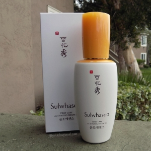 Sulwhasoo First Care Activating Serum EX review