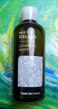 Thankyou Farmer Back to Iceland Cleansing Water review