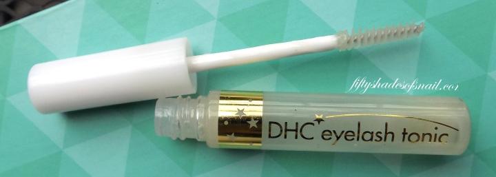 DHC eyelash tonic review
